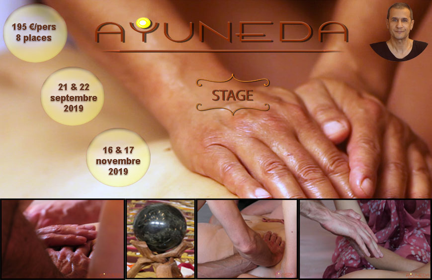 Stage d'initiation au massage tantrique Ayuneda