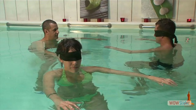 Coaching tantrique couple en piscine