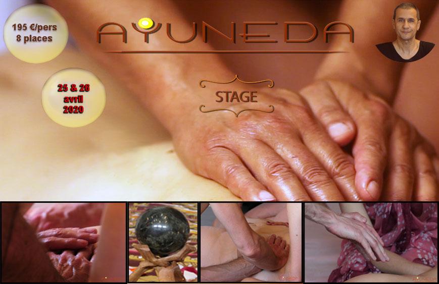 Stage d'initiation au massage tantrique Ayuneda